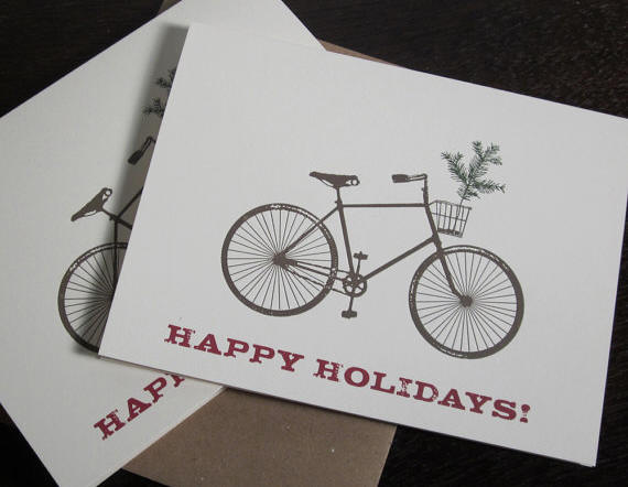 holiday card by Two Guitars
