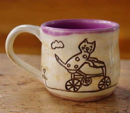 handcrafted mug by Kelly Keigwin & Sam MacKenzie